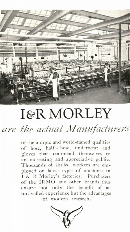 I&R Morley Manufactoring Feature