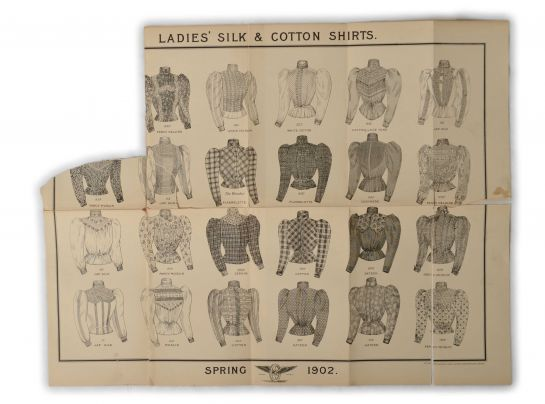 Ladies' Silk and Cotton Shirts