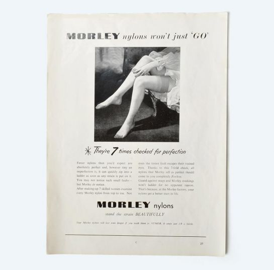 Morley nylons advert