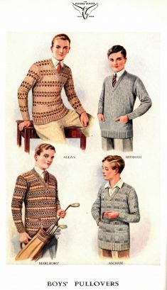 Boy's Pullovers