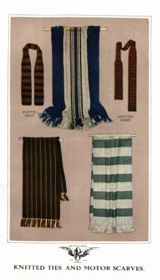 Knitted Ties and Motor Scarves